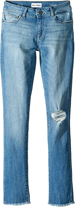 DL1961 Kids - Chloe Skinny Jeans in Foil (Big Kids)