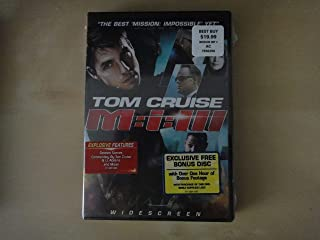 M:I:III Mission Impossible 3 With Bonus Impossible Mission Force Disc Only Available From Best Buy.