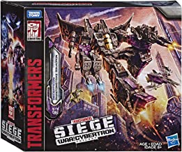 Transformers Toys Siege War For Cybertron Voyager Wfc-S27 Decepticon Phantomstrike Squadron 4 Pack - Final Strike Figure Series: Part 2 (Amazon Exclusive)