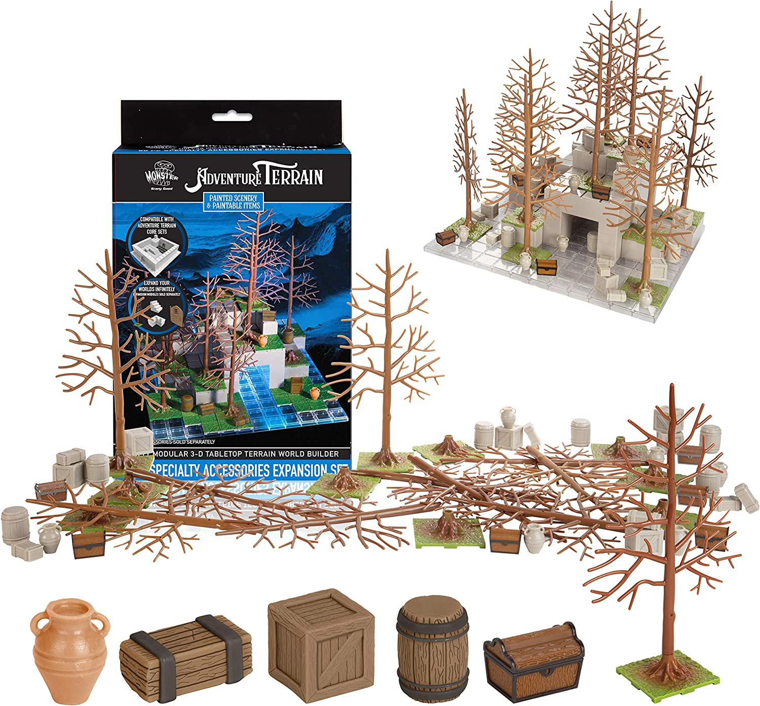 Selling and selling Gifts Monster Adventure Terrain- 50pc Specialty Expansion Accessories