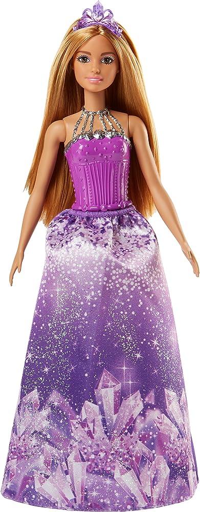 Barbie, principessa del regno delle pietre preziose dal mondo di dreamtopia FJC97