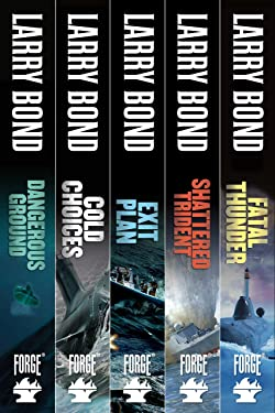 The Jerry Mitchell Series: Dangerous Ground, Cold Choices, Exit Plan, Shattered Trident, Fatal Thunder (A Jerry Mitchell Novel)