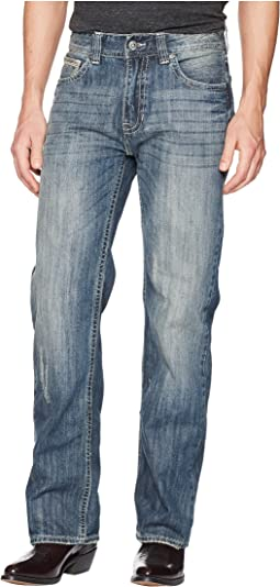 Rock and Roll Cowboy Double Barrel in Medium Wash M0S5123