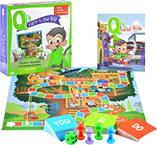 EQtainment Q's Race to The Top Educational Board Game with Book: Social Skills, Manners, and Better Behavior!