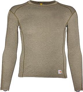 Carhartt Men's Force Heavyweight Polyester-Wool Base Layer Long Sleeve Shirt