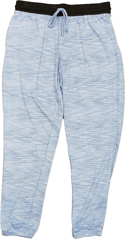 Secret Treasures Blue Birch Space Dye Hacci Jogger Lounge Sleep Pants