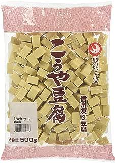 登喜和冷凍食品 鶴羽二重高野豆腐1/8四角カット 500g