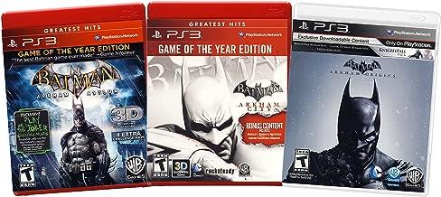 Batman Value Pack: (Arkham Asylum / Arkham City / Arkham Origins) (3-Pack) (Playstation 3)
