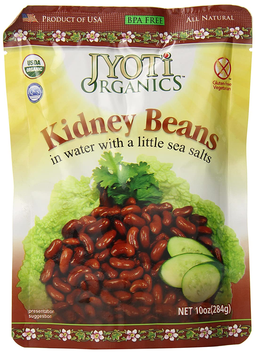 Jyoti Free shipping Organic Kidney Beans 10 6 of Pack Ounce Special price for a limited time