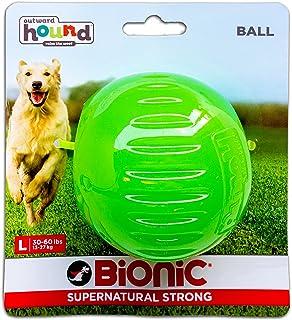 Outward Hound Bionic Ball Durable Tough Fetch & Chew Toy