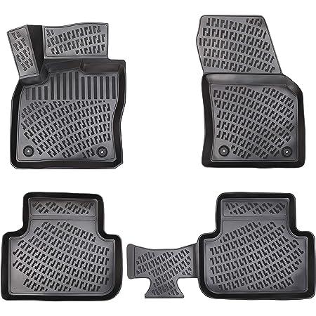 Element Exp Element5154210k Passgenaue Premium Antirutsch Gummimatten Fußmatten Für Vw Tiguan Mk2 5 Türer Kurz Karosserie Jahr 16 20 Schwarz Passform Auto