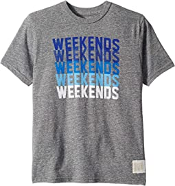 Weekend Short Sleeve Tri-Blend Tee (Big Kids)