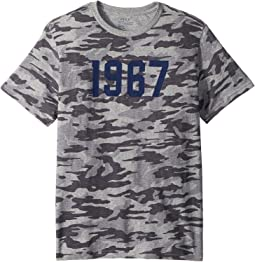 Camo Cotton Jersey T-Shirt (Big Kids)