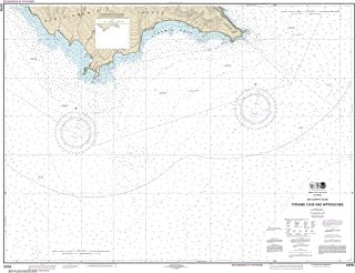 NOAA Chart 18764 San Clemente Island Pyramid Cove and approaches: 34.74