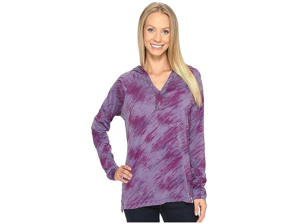 Smartwool Merino 150 Pattern Hoodie (Desert Purple) Women