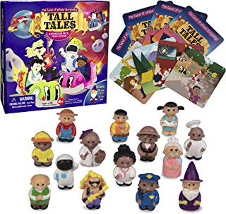 Tall Tales Story Telling Board Game Expansion Pack: People Edition - Includes 14 New Educational Game Pieces and 4 Story Cards - Promotes Creativity and Language Skills