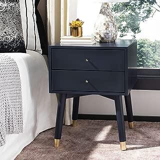 navy blue nightstand