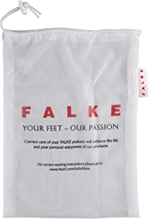 FALKE Women's Washing Bag Lingerie Bag Mesh White Protects Your Hosiery And Lingerie In Washing Machine For Improved Durab...