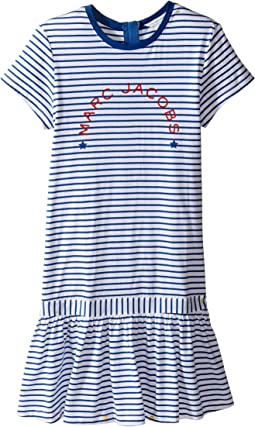 Little Marc Jacobs - Mariniere Dress (Big Kids)