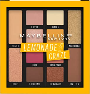 Maybelline Eyeshadow Palette, Lemonade Craze