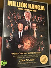 Milliók hangja - Swing & Big Band Beat Willis Conover emlékkoncert DVD TIME FOR JAZZ