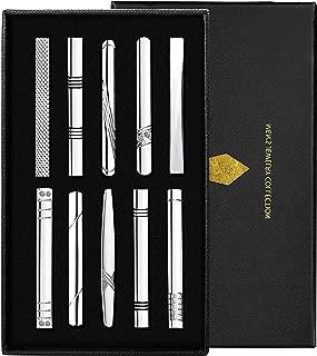 ZOYLINK Clip Cravate Pour Hommes Pince /À Cravate Pince /À Cravate Design /Ép/ée /Épingle De Cravate
