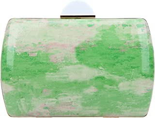 Bonjanvye Watercolor Clutch Evening Bags and Clutches for Women