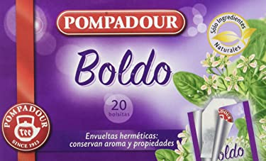 Pompadour - Infusion Boldo - 20 bolsitas