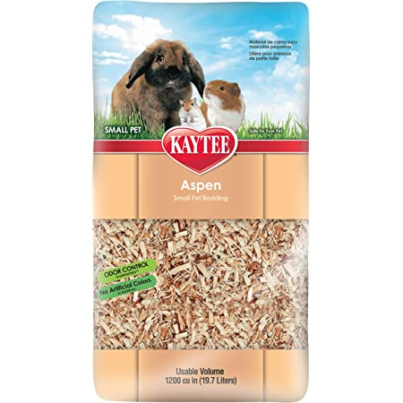 Kaytee Aspen Small Pet Bedding, 19.7 Liters