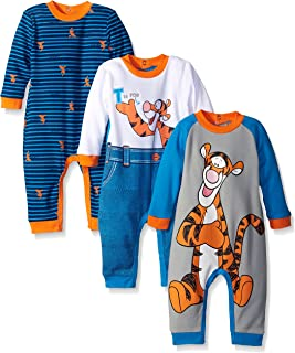 Disney Baby Boys' Tigger 3 Pack Coveralls