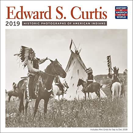 Edward S. Curtis American Indians Wall Calendar 2019 Monthly January-December 12