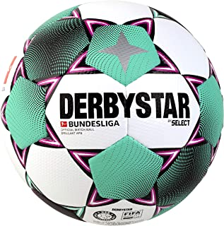 DERBYSTAR 2020/2021 Brillant APS Bundesliga FIFA Match Soccer Ball, Size 5