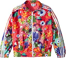 adidas Originals Kids - Floral Windbreaker (Little Kids/Big Kids)