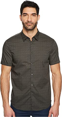 John Varvatos Star U.S.A. - Short Sleeve Shirt w/ Cuff W443T4B