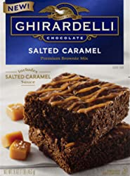 Ghirardelli Salted Caramel Brownie Mix, 16 Oz