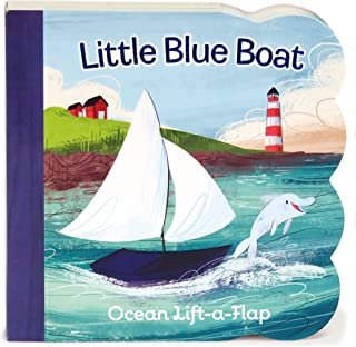 Little Blue Boat Chunky Lift-a-Flap Board Book (Babies Love)