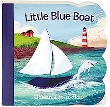 Little Blue Boat Chunky Lift-a-Flap Board Book (Babies Love)