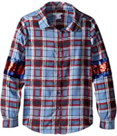 Little Marc Jacobs - Long Sleeve Shirt (Little Kids/Big Kids)