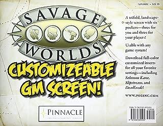 Savage Worlds Customizable GM Screen (S2P10002)