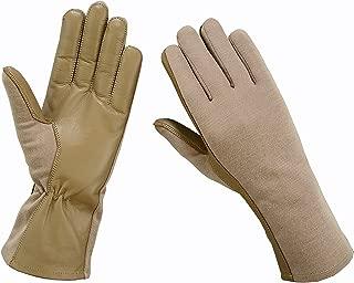 ONETAC OUTDOOR Nomex Flight Flyers Gloves Pilot FIRE Resistant Black, Green, Tan