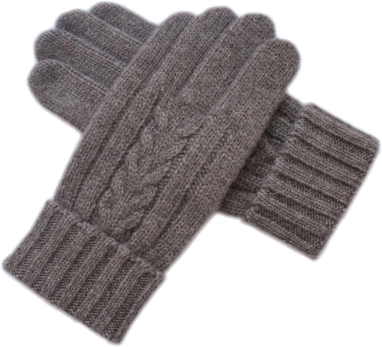 YMFIE Die Klassische Männer Winter warme Wolle Dicker Wolle Touch Handschuhe B077C2174D  Kompletter Spezifikationsbereich