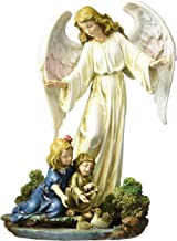 Angel Collection Joseph's Studio by Roman Exclusive Guardian Angel with Children Figurine, 8.5-Inch