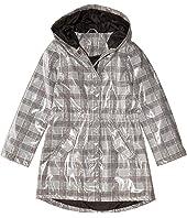 Raincoat Patent Faux Leather Anorak Jacket (Little Kids/Big Kids)