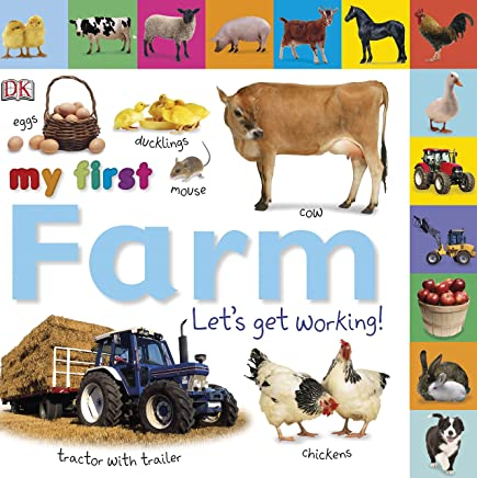 Tabbed Board Books: My First Farm: Let's Get Working! (My First Tabbed Board Book)
