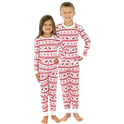 41efb0124a SleepytimePjs Kids Family Matching Pjs OVERALL Top Printed Pants-8Kid