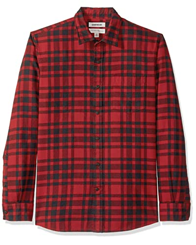 060daf108 Black and Red Plaid Shirt: Amazon.com
