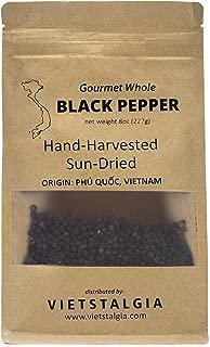 Premium Vietnamese Whole Black Peppercorn, 8oz