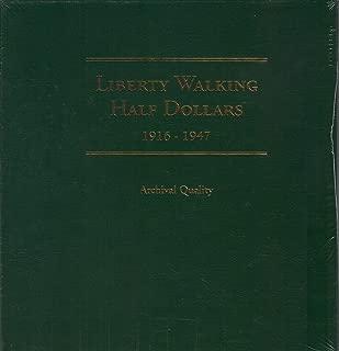 Liberty Walking Half Dollar Album 1916-1947 (LCA5)