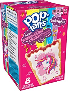 Pop-Tarts Toaster Pastries Frosted Sparkle-Licious Cherry, 14.6 oz