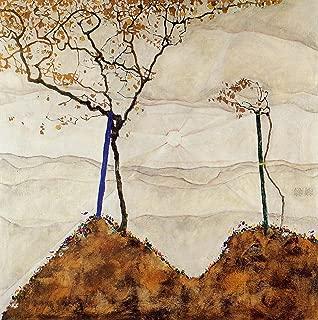 Egon Schiele - Autumn Sun I Private Collection 30